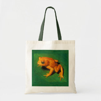 Golden Toad Tote