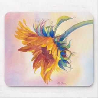 Golden Touch Sunflower Mousepad