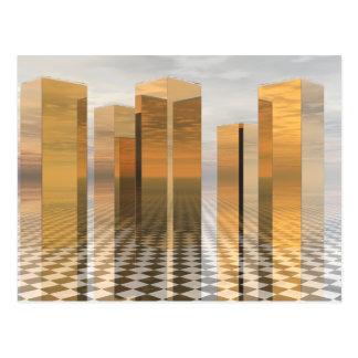 Golden Towers Postcard