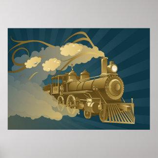 Golden Train Poster
