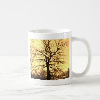 golden tree mug