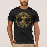 Golden Tree Of Life T-Shirt