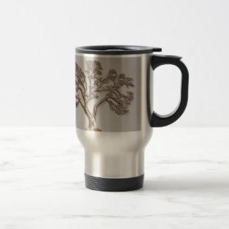 GOLDEN TREE OF PROSPERITY JAPANESE COFFEE MUGS
