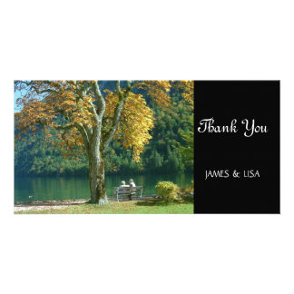 Golden Tree Retirement Photo Card