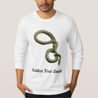 Golden Tree Snake American Apparel Long Sleeve T-Shirt