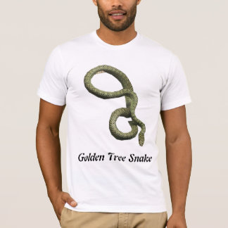 Golden Tree Snake Basic American Apparel T T-Shirt