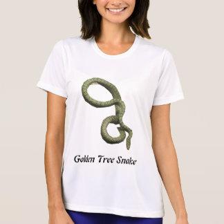 Golden Tree Snake Ladies Micro-Fiber T T Shirt