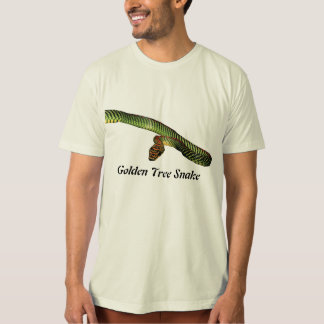 Golden Tree Snake Organic T-Shirt