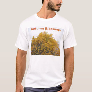 Golden Tree Top, Autumn Blessings T-Shirt