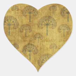 GOLDEN TREE'S GALORE HEART STICKER