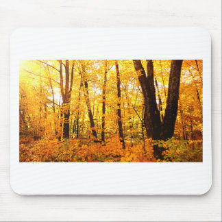 Golden Trees on St Joseph Island Mouse Pad