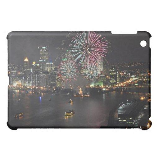 Golden Triangle Fireworks iPad Case