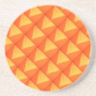 Golden Triangle : Oriental Celebration SILK Print Drink Coasters