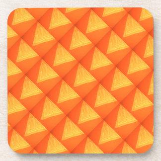 Golden Triangle : Oriental Celebration SILK Print Drink Coaster