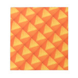 Golden Triangle : Oriental Celebration SILK Print Note Pads