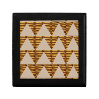 GOLDEN Triangle STRIPS: from VINTAGE Art Jewelry Boxes