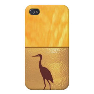 Golden Triangle - Threesome Hearts iPhone 4 Cover