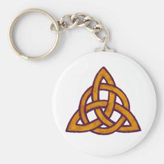 Golden Trinity Key Chain