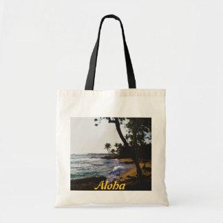 Golden Tropical Sand Tote Bag