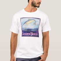 Golden Trout Brand Vintage Label T-Shirt