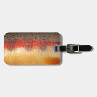 Golden Trout by PatternWear© Luggage Tag