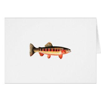 Golden Trout Card