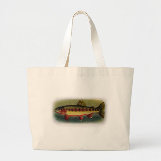 Golden Trout of Volcano Creek Canvas Bags