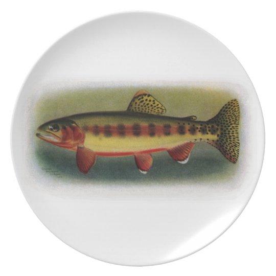 Golden Trout of Volcano Creek Dinner Plate