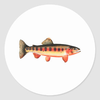 Golden Trout Classic Round Sticker