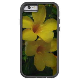 Golden Trumpet Flowers II Tropical Floral Tough Xtreme iPhone 6 Case