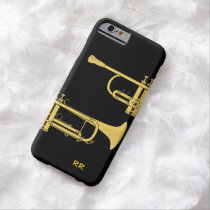 Golden Trumpet Music Theme iPhone 6 Case at Zazzle