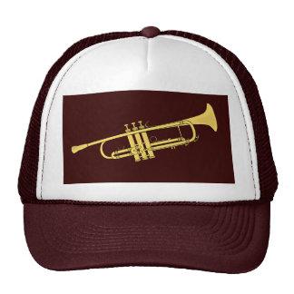 Golden Trumpet Music Theme Trucker Hat