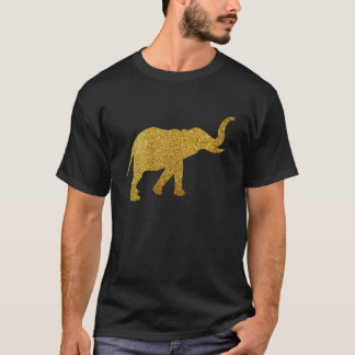 Golden Trumpeting Elephant T-Shirt