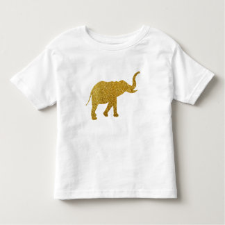 Golden Trumpeting Elephant Toddler T-shirt