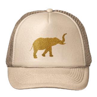 Golden Trumpeting Elephant Trucker Hat