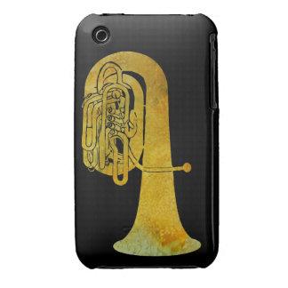 Golden Tuba iPhone 3 Case-Mate Case