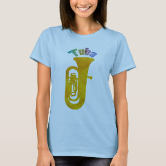 Golden Tuba Colorful Sound T-Shirt