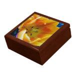golden tulip flower trinket boxes