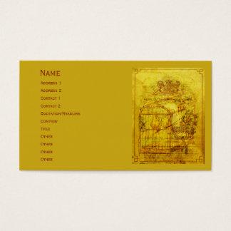 Golden Tweets Business Card