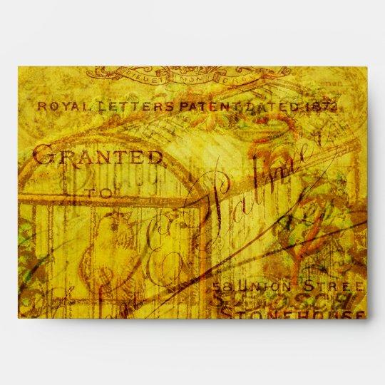 Golden Tweets Envelope