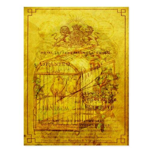 Golden Tweets Postcards