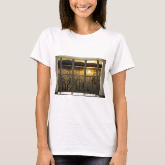 golden-twin-peaks-lake-window-view T-Shirt