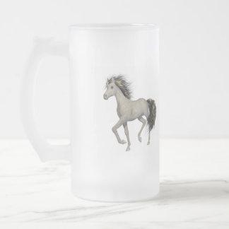 Golden Unicorn  Frosted Mug