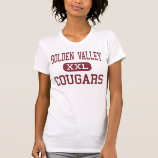 Golden Valley - Cougars - High - Merced California T-shirts