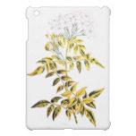 Golden Variegated Jasmine iPad Mini Covers