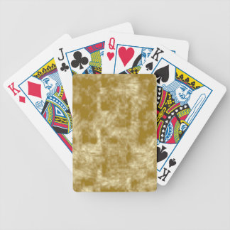 Golden Velvet Bicycle Playing Cards