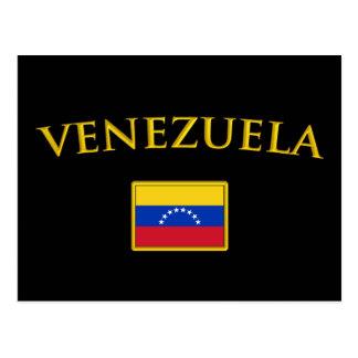 Golden Venezuela Postcard