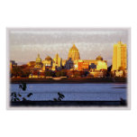 Golden View of Harrisburg, Pa Poster