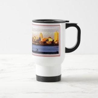 Golden View of Harrisburg, Pa Travel Mug