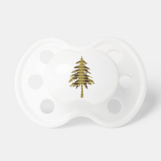 GOLDEN Vintage Style TREE ; lowprice GIFTS chinese Pacifier